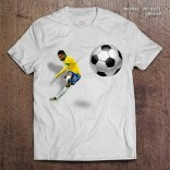 Neymar Jr With Ball White