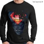 Superman NEW SUPERMAN SP Black LS