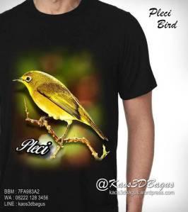 KAOS PLECI, Kaos Gambar Burung, Kaos Kicau Mania, http://instagram.com/kaos3dbagus, WA : 08222 128 3456, LINE : kaos3dbagus