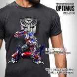 Kaos Film Transformers, Kaos 3D Optimus, Kaos Karakter Optimus Prime, Kaos Robot Transformers