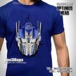 Kaos Karakter, Kaos Film Transformers, Kaos Ultah Anak, Kaos3D