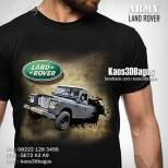 Kaos 3D LAND ROVER, Kaos 3D Land Rover Defender, Kaos KLUB LAND ROVER Indonesia, Kaos 3D Umakuka, Kaos 3D Bagus, Kaos 3 Dimensi Gambar Mobil