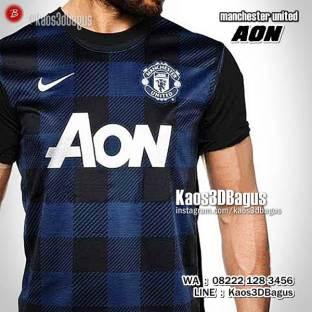 Kaos MU JERSEY AWAY, Kaos3D, Kaos BOLA, United Fans Indonesia