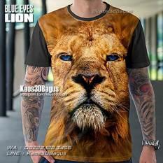 Kaos LION, Kaos Tiger, Kaos Gambar Singa, Kaos 3 Dimensi, Kaos Animal, Animal Lovers Tshirt