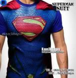 Superman Suit, Kaos3D, Kostum SUPERMAN, Kaos SUPERHERO, Kaos3DBagus