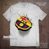 Kaos BARCA, Kaos Barcelona, Kaos 3D LOGO BARCA, Kaos 3D Barcelona, Kaos 3D, Kaos Bola 3D, http://instagram.com/kaos3dbagus, WA : 08222 128 3456, LINE : kaos3dbagus