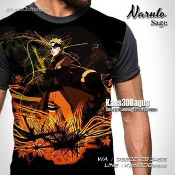 Gerakan Jurus Naruto, NARUTO SAGE, Kaos3D, Kaos Film Naruto
