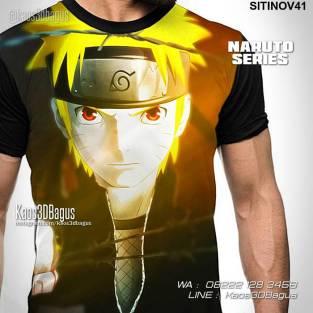 Kaos Tema NARUTO, Naruto Shippuden, Naruto The Movie, Kaos Kartun Naruto, Kaos3D