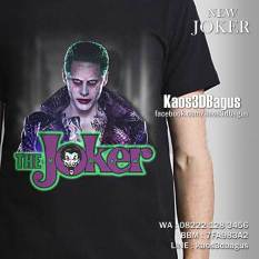 Kaos Gambar JOKER, Kaos Film Batman, Antihero