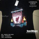 Kaos3D Bola, Logo Liverpool, YNWA, Liverpool Indonesia Fans