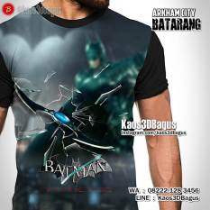 Kaos Game Batman Arkham City, Kaos BATMAN WEAPON, Batarang Batman, Kaos 3D, Kaos Superhero