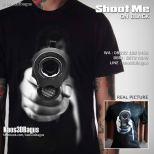 Kaos Gambar PISTOL, Kaos Shoot Me, Kaos 3D, Umakuka, Kaos 3D Bagus, http://www.facebook.com/kaos3dbagus, WA : 08222 128 3456, LINE : kaos3dbagus