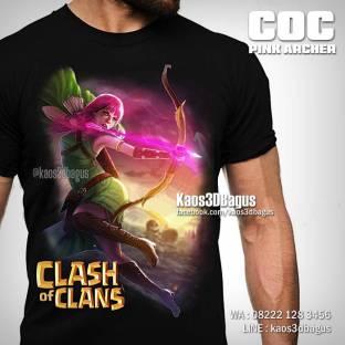 Kaos 3D, COC ARCHER, Kaos Game COC, Clash Of Clans, Game Android, https://www.facebook.com/kaos3dbagus, WA : 08222 128 3456, LINE : @kaos3dbagus