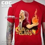 Kaos WIZARD, Kaos COC, Clash Of Clans, Kaos 3D, Kaos 3D Umakuka, https://www.facebook.com/kaos3dbagus, WA : 08222 128 3456, LINE : kaos3dbagus