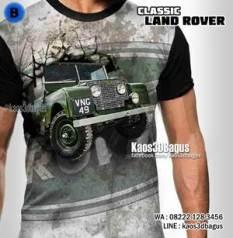 Kaos JEEP MILITER, Kaos LAND ROVER, Kaos MOBIL TENTARA, Kaos3D