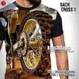 Kaos MOTOCROSS - Kaos TRAIL - Kaos3D BACK CROSS 1