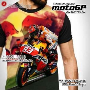 Kaos MOTOGP - Marc Marquez - FPB - Kaos Balap Motor