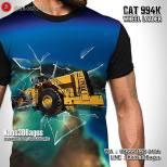 Kaos ALAT BERAT, Kaos3D, Kaos TAMBANG, Coal Mining, Cat 994K