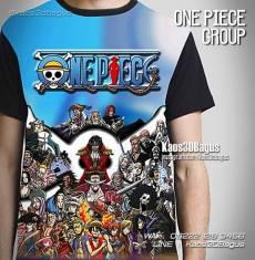 Kaos Luffy, Kaos Manga, Kaos Tema One Piece, Kaos Mugiwara