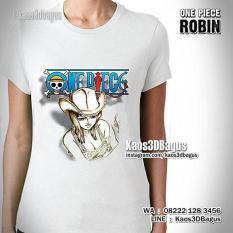 Kaos Karakter ROBIN, Film Animasi One Piece, Kaos3D, Kaos3DBagus