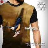 Kaos Kicau Mania, Kaos3D, Burung Murai Medan, Komunitas Pecinta Burung Murai