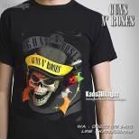 Kaos Rock Music, Kaos Grup Heavy Metal, Kaos3D, Kaos3DBagus, GNR, Guns N Roses