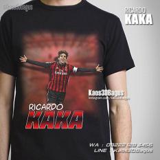 Kaos Gambar Kaka AC Milan, Kaos3D, Kaos Futsal