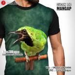 Kaos3D, Kaos Burung Cucak Ijo, Cucak Ijo Mania, Klub Burung Cucak Ijo, Kicau Mania