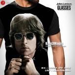 Kaos Gambar John Lennon, Kaos Rock N Roll, Kaos Musisi Dunia, Rock Band