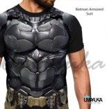 GROSIR KAOS 3D MURAH - Batman Armored Suit