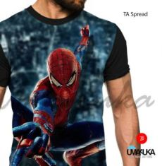 GROSIR KAOS 3D MURAH - Kaos SPIDERMAN - TA Spread - Spiderman