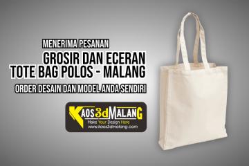 GROSIR dan ECERAN Tote Bag Kota Malang