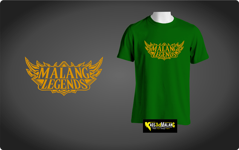 Kaos Malang Legends - Model Mobile Legend