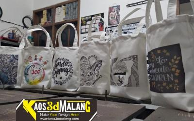 Jasa Pembuatan Totebag Murah Berkualitas Kota Malang – Project Galleries