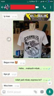 Testimoni Kaos 3D Malang - Maret 2019