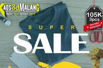 PROMO RAMADHAN - Kaos 3D Malang ico