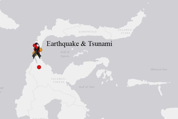 Ilustrasi gempa di sulawesi