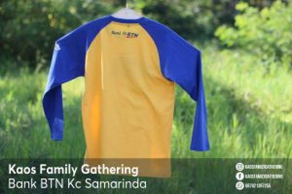 Kaos Family Gathering Bank BTN Kc Samarinda 2