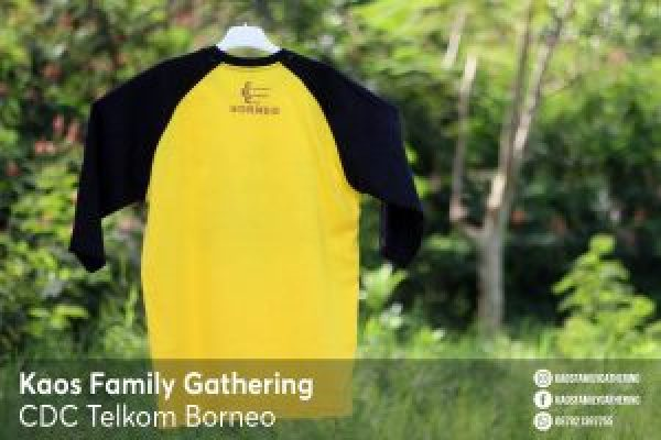 Kaos Family Gathering CDC Telkom Borneo 4
