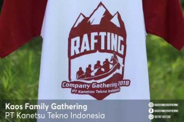 Kaos Family Gathering PT Kanetsu Tekno Indonesia 2