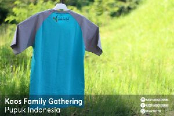 Kaos Family Gathering Pupuk Indonesia 2