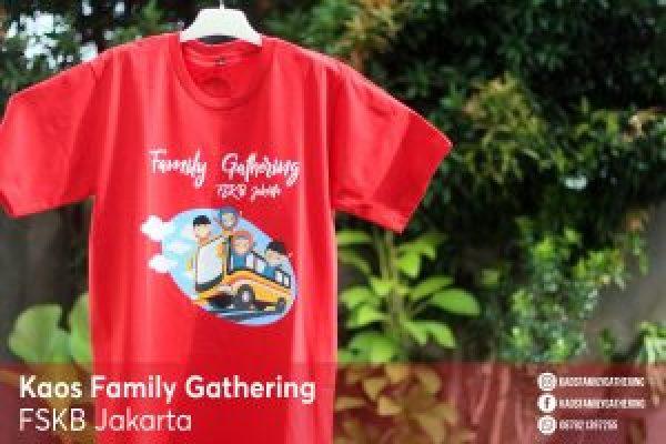 Kaos Family Gathering FSKB Jakarta 3
