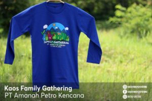 Kaos Family Gathering PT Amanah Petro Kencana 1