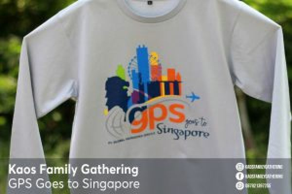 Kaos Family Gathering GPS to Singapore 2