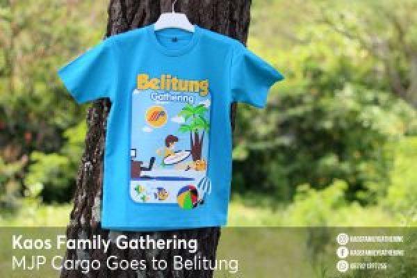 Kaos Family Gathering MJP Cargo Goes to Belitung 1