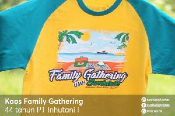 Kaos Family Gathering PT INHUTANI I 3