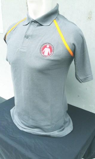 Polo Shirt Tampak Samping