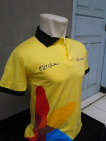 Kaos Berkerah Indosat