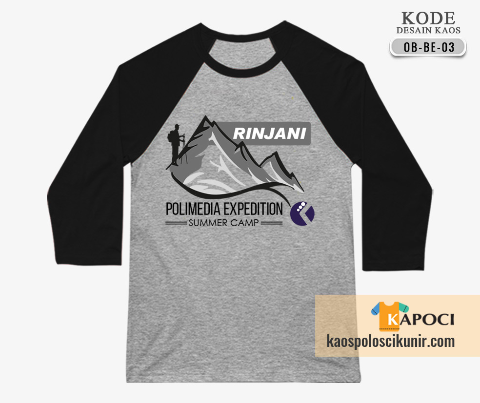 Kaos Outbound Gunung Rinjani