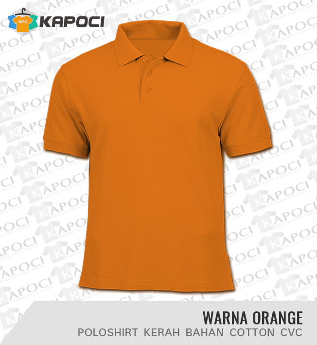 Polo Shirt Polos Warna Orange